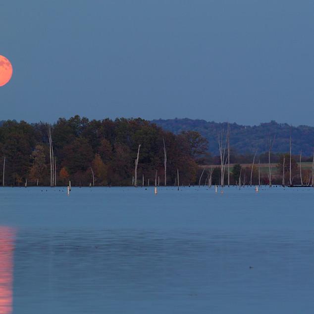 Middle Creek Moonrise