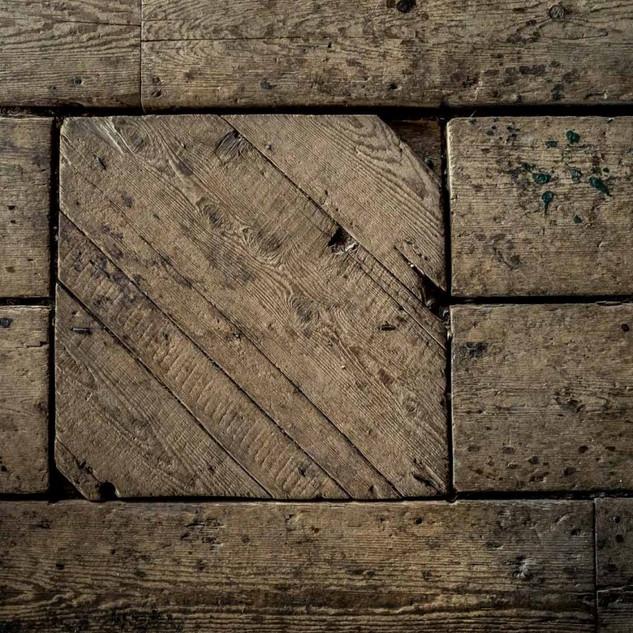 Rustic Barn Floor