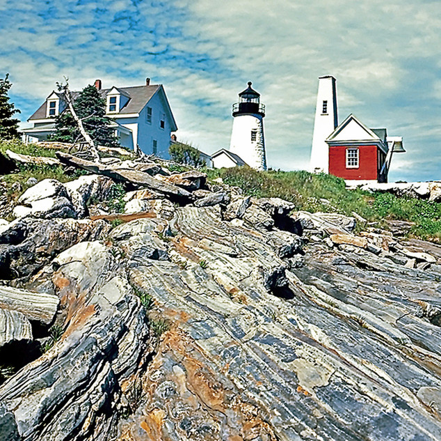 Lighthouse at Pemaquid Point