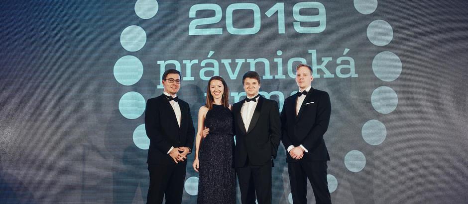 LitFin součástí galavečeru Právnická firma roku 2019