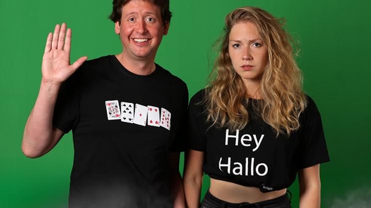 Steven Kazàn & Jamie - Hey Hallo