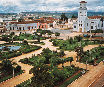 Praça Bom Jesus e Catedral