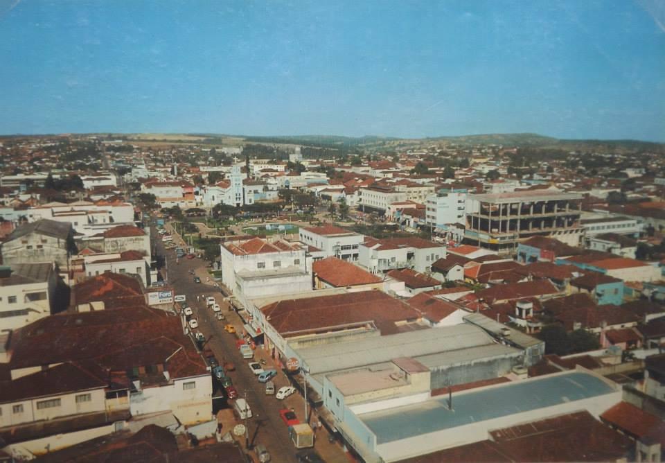 1970 Centro - Catedral ao fundo