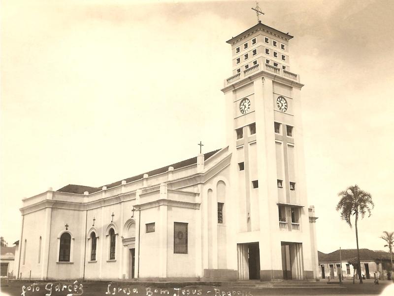 IGREJA APÓS CONCLUSÃO DAS OBRAS 1948