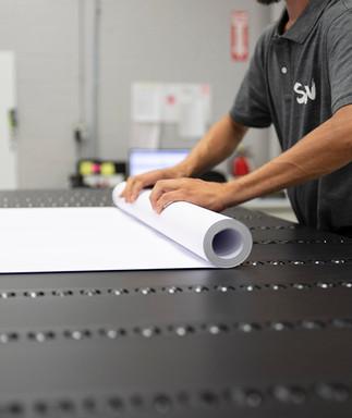 Roll to roll digital printing