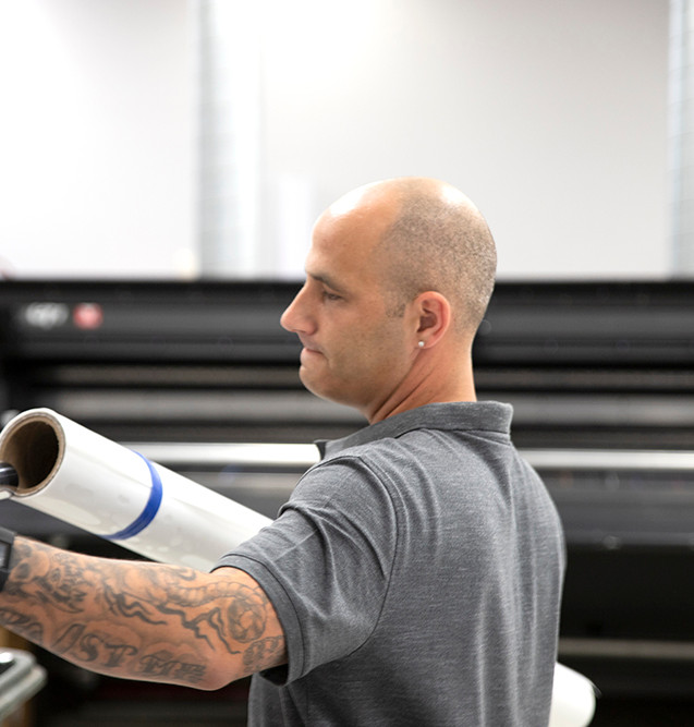 Laminating and dry erase services