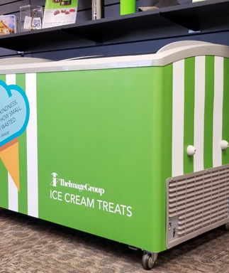 Custom wrap ice cream cart