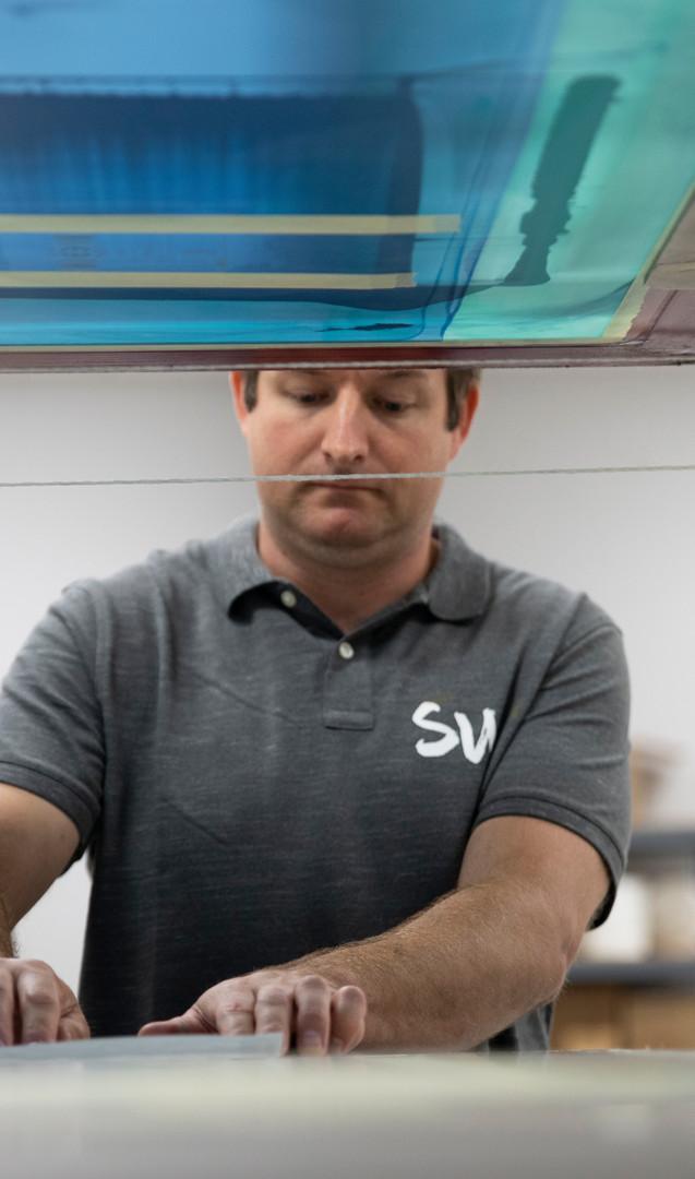 Multi-color screen printing