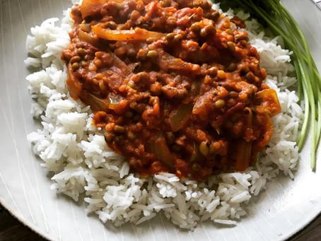 Red Lentil & Mung Bean Dal