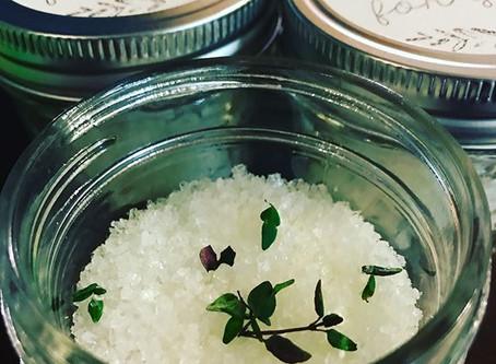 Thyme Bath Salts
