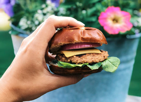 Lentil Walnut Burgers