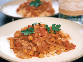 Spicy Coconut Chickpea Curry