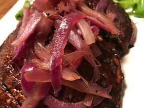 Grilled Red Wine BalsamicPortobello Mushrooms