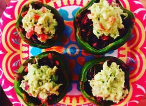 Chili Style Stuffed Peppers