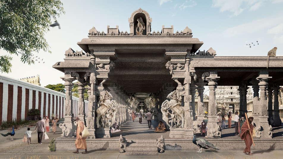 Thiruchendhur Temple Renovation