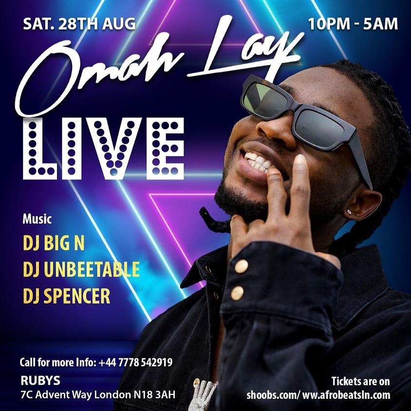 Omah lay - Summer Fest London