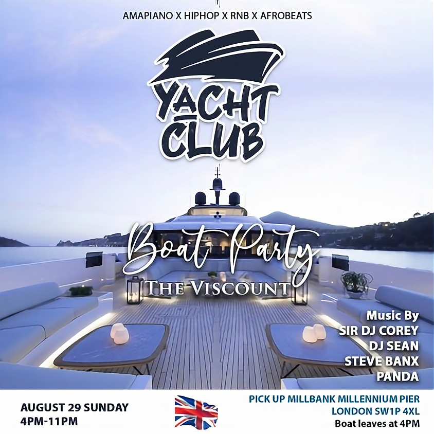 Yacht Club - The Viscount Boat Party