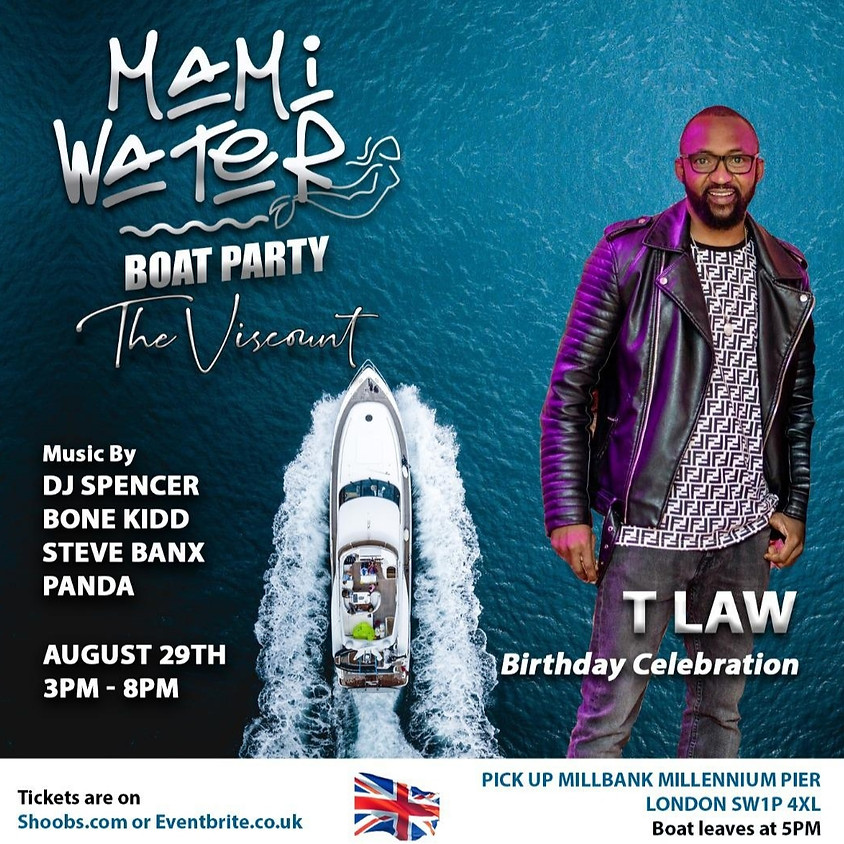 The Viscount Boat Party (T law Birthday Celebration)