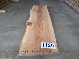 天然秋田杉厚板 TWS-1126