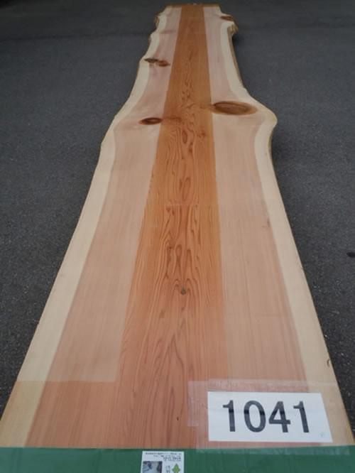 天然秋田杉厚板 TAS-1041