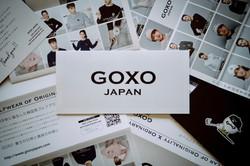 パンフレットカタログ&カード制作「GOXO JAPAN」様