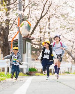太田家のご入学写真。