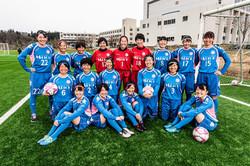 取材撮影「明桜高校女子サッカー部」様
