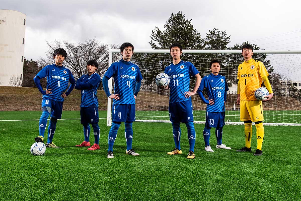 学校案内撮影「ノースアジア大学 サッカー部」様