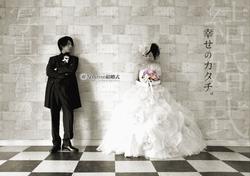 ポスター撮影&デザイン(写真だけの結婚式)