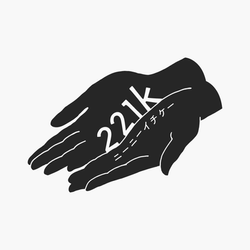 ロゴマークデザイン「221k」様