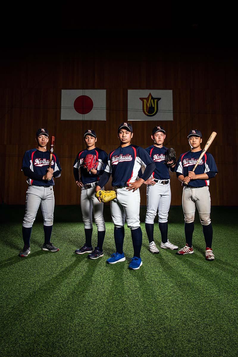 取材撮影「ノースアジア大学 野球部」様
