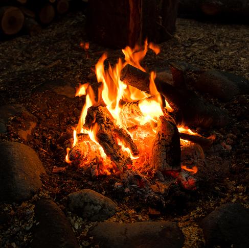 火を焚きなさい。