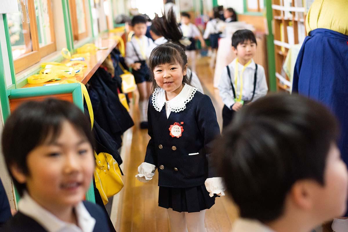 田口かれんちゃんのご卒園記念。