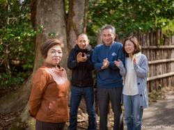 石田家のご家族写真。