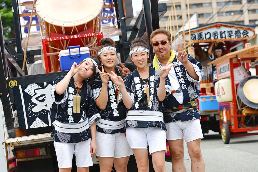 記録写真撮影「駅東竿燈会2014」