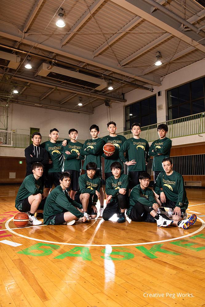 取材撮影「JR東日本 秋田バスケットボール部 ペッカーズ」様