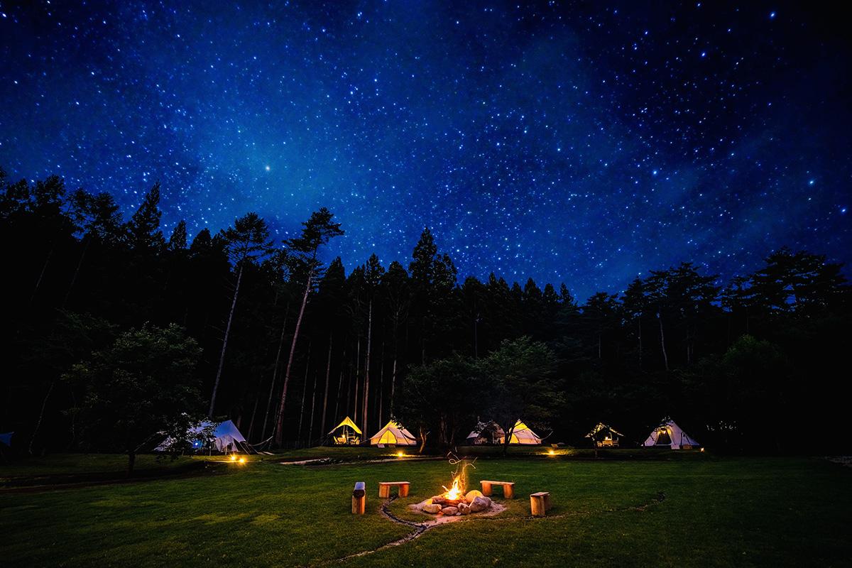 パンフレット&WEBサイト用写真撮影「七ヶ宿やまびこの森キャンプ場」様