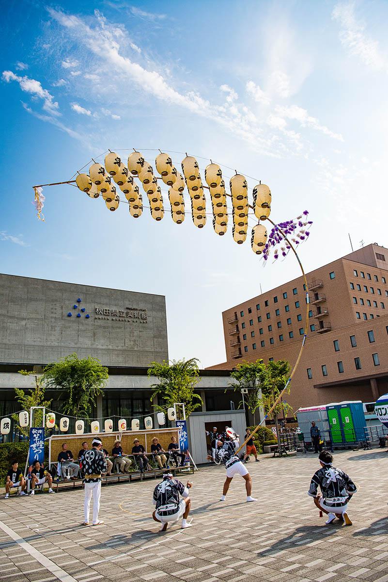 記録写真撮影「駅東竿燈会」様