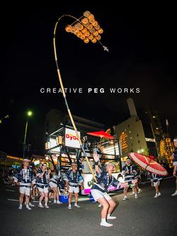 記録写真撮影「駅東竿燈会2015」