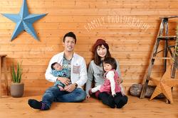 佐東家のご家族写真。