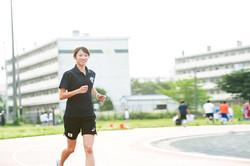 取材撮影「秋田大学陸上部 広田 有紀」様