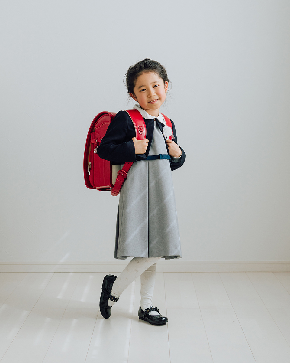 茜谷家のご入学記念。