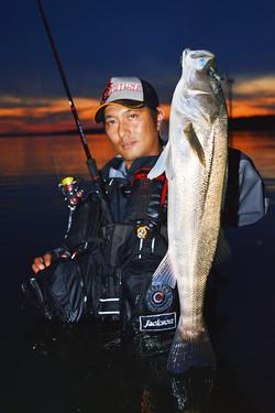 取材写真撮影「釣り東北」
