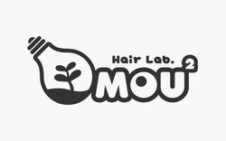 ロゴマークデザイン「Hair Lab. MOU2」様
