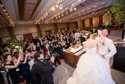 北林家・加藤家ご結婚披露宴 in 秋田キャッスルホテル