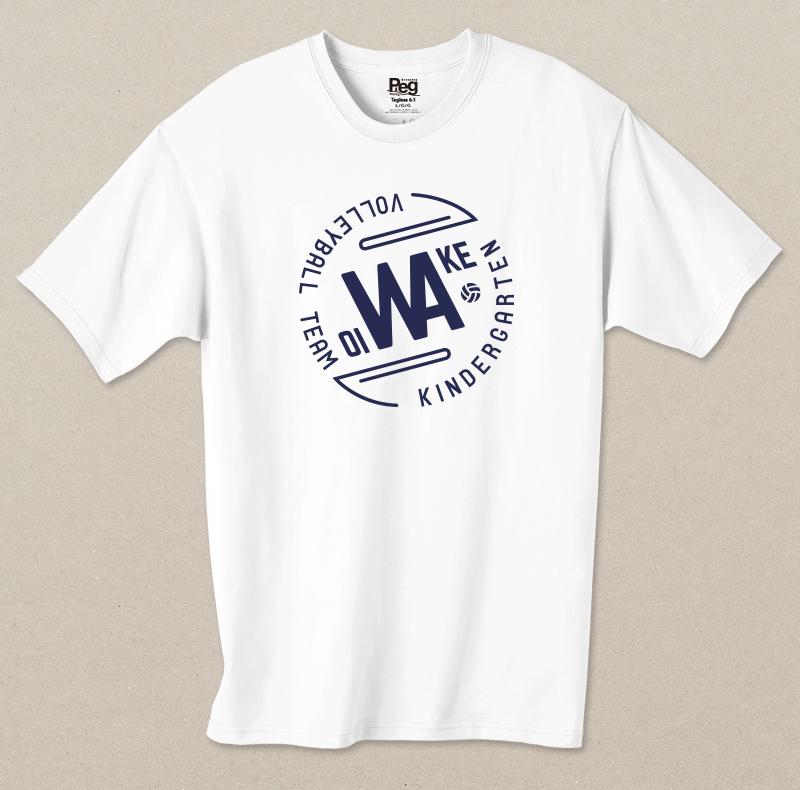Tシャツ制作(追分幼稚園ビニールバレーボールサークル様)