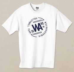 Tシャツデザイン&印刷「追分幼稚園ビニールバレーボールサークル」様