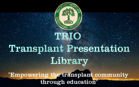 Transplant Presentation Library Project