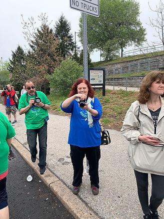 Susan the photographer DASH 24 April 201