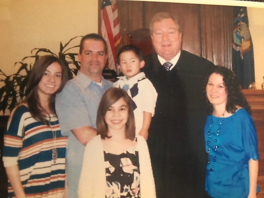 adoption of Jeremy from China